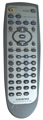 onkyo rc 690m remote manual