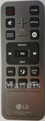 Sound Bar (AKB74375511) original remote control