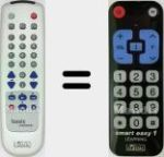 Original remote control Smart Easy 1 Learning (IRC84007)