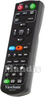 Original remote control VIEWSONIC RCP01071