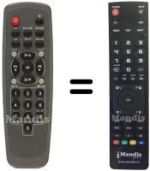 Replacement remote control Palcom DSL1