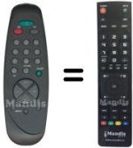 Replacement remote control LENSON LA3002