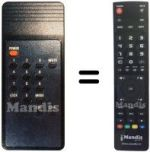 Replacement remote control FREECOM OR66