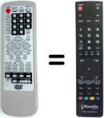 Replacement remote control E-Max AS-201