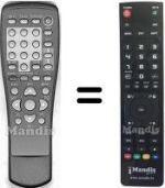 Replacement remote control SIGMA 600