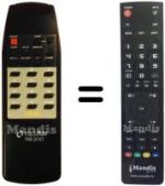Replacement remote control TELEMAX TX300