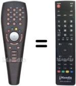 Replacement remote control NEUF TELECOM NEUFTV