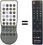 Replacement remote control Argosy REMCON787