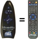 Replacement remote control Bigben Interactive SONY PS2