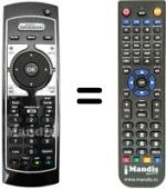 Replacement remote control MEDIASET REMCON311