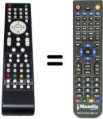 Replacement remote control Dangaard SEC8504