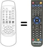 Replacement remote control RELISYS LT 30 C