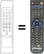 Replacement remote control Bigston CTV 140
