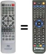 Replacement remote control ALLSTAR ADS-185