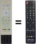 Replacement remote control IKEA L24U4010FC