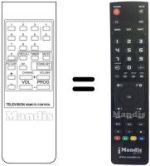 Replacement remote control Art-Tech GT 8820-20'