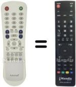 Replacement remote control TECHONE TO 20 A