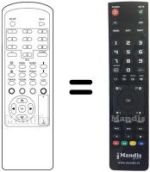 Replacement remote control AB SAT AB 2020