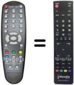 Replacement remote control SET-ONE EASY-ONE T1