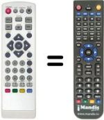 Replacement remote control CALE STCL220
