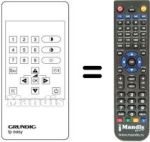 Replacement remote control Cmx TP-EASY