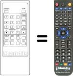 Replacement remote control Panorama VCR97