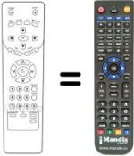 Replacement remote control INTERNATIONAL 212R