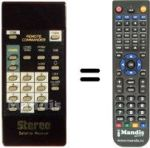 Replacement remote control Prosat PROSAT500