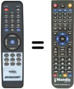 Replacement remote control MONTEREY STAR2000