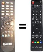 Replacement remote control IKUSI DST-100